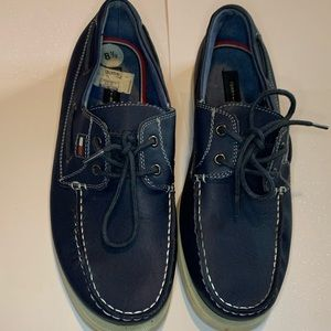 Tommy Hilfiger 8.5 Leather Mens Boat Shoes